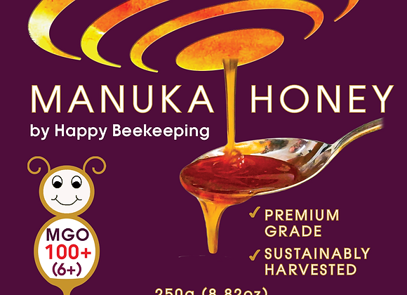 Active Manuka Honey, UMF5+, MGO100+, medicinal, helps with chemotherapy, healthy guts,  super food, nz Manuka Honey