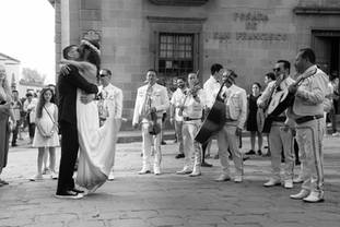 San Miguel de allende wedding photograph