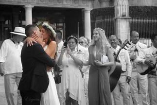 San Miguel de allende wedding photograph