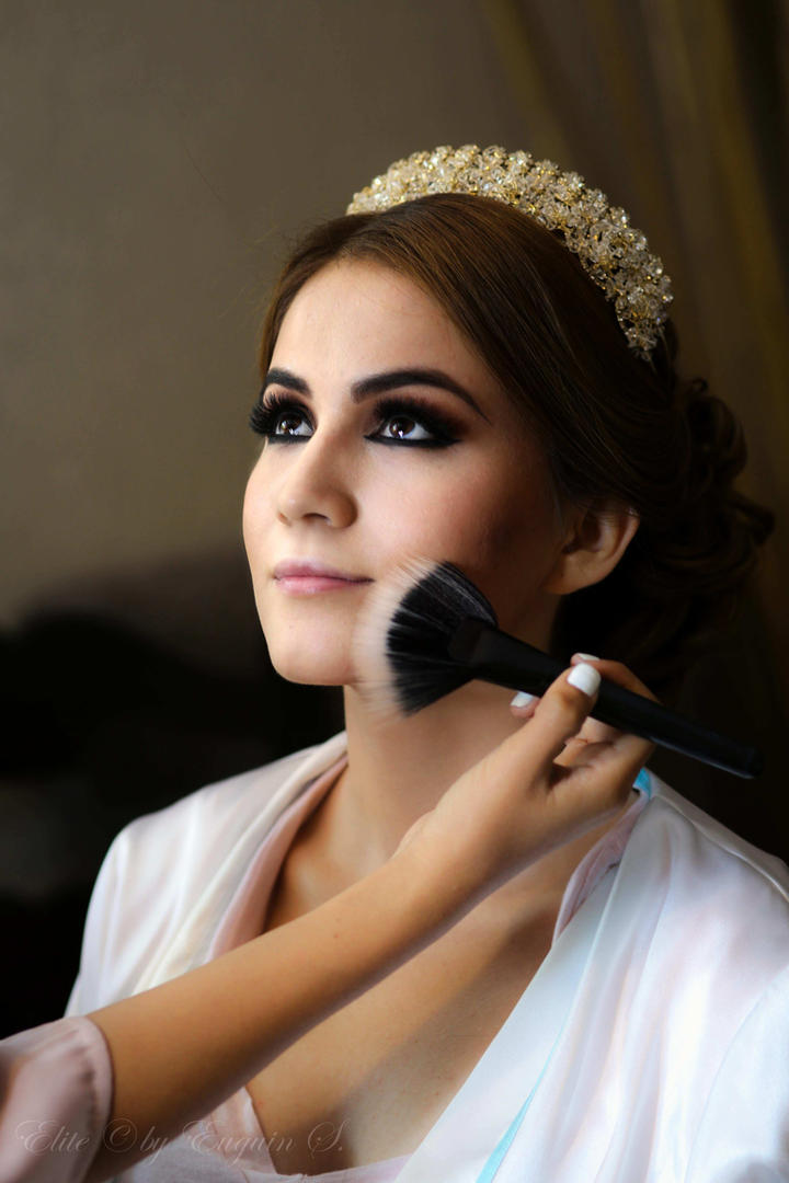 Bride makeup getting ready San Miguel Weddings