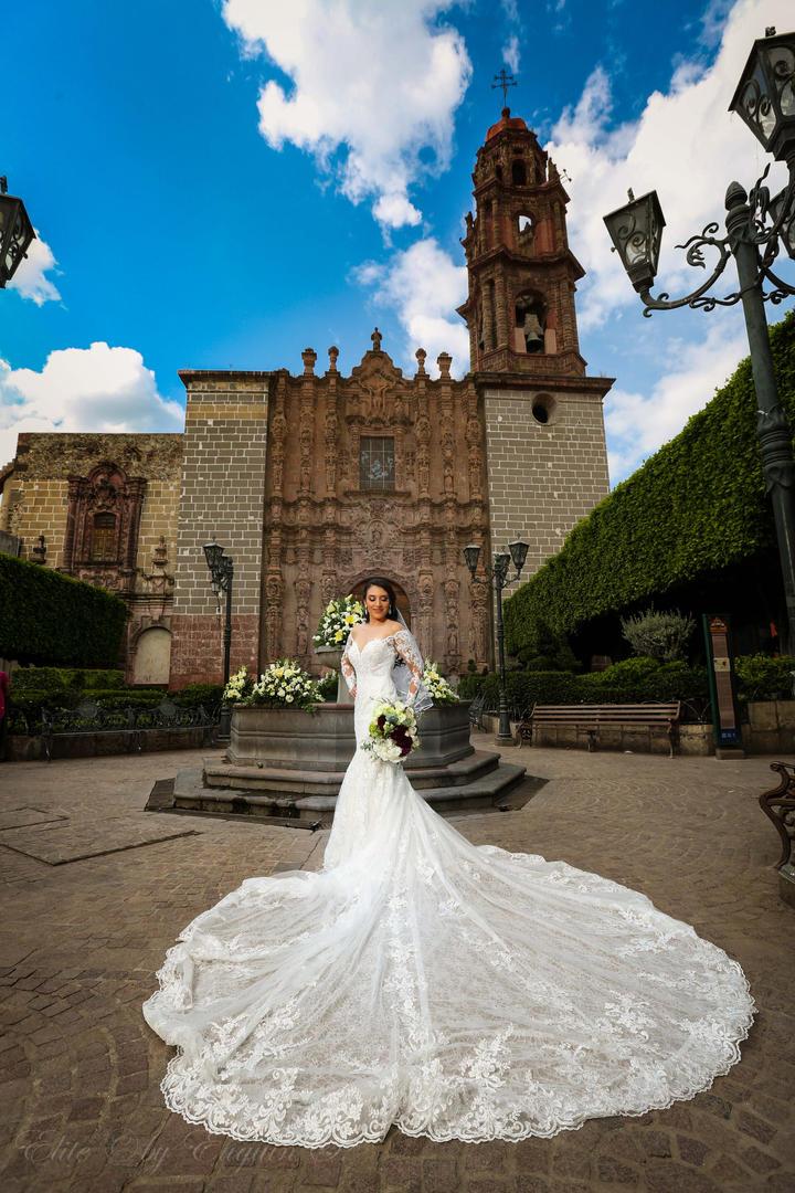 Bride at San Francisco San Miguel de Allende