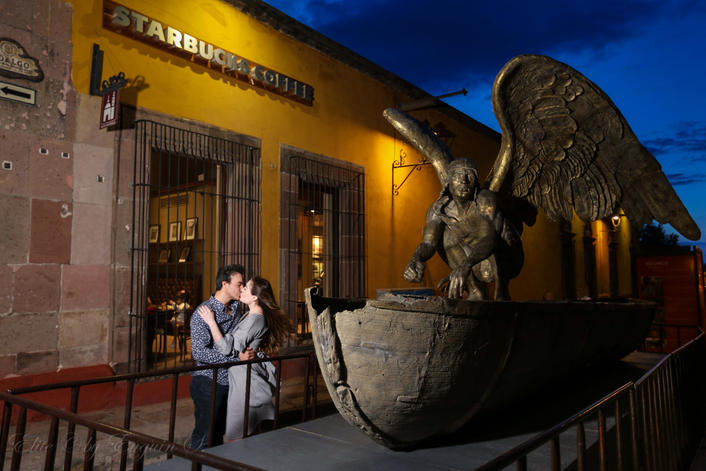 Save the date photo session San Miguel de Allende Euguin S M