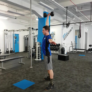 Single Arm Dumbbell Snatches