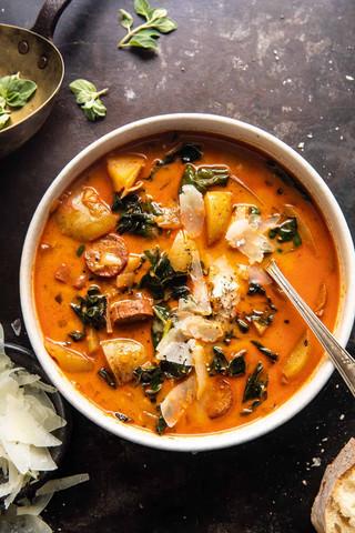 Smoky Potato and Kale Soup