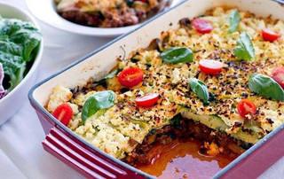 Chicken, Spinach & Mushroom Ricotta Lasagne