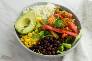 HEALTHY Instant Pot Chicken Fajitas