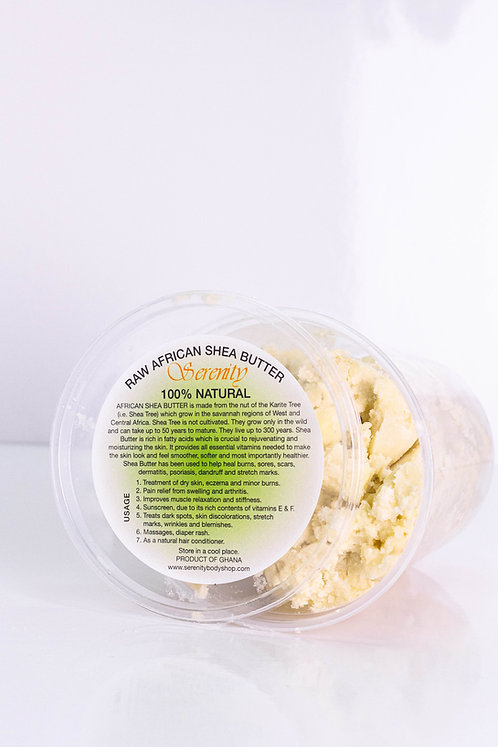 SERENITY RAW AFRICAN SHEA BUTTER CHUNKS