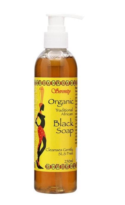 SERENITY LIQUID BLACK SOAP
