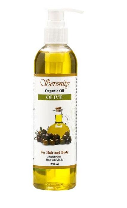SERENITY OLIVE OIL 8oz