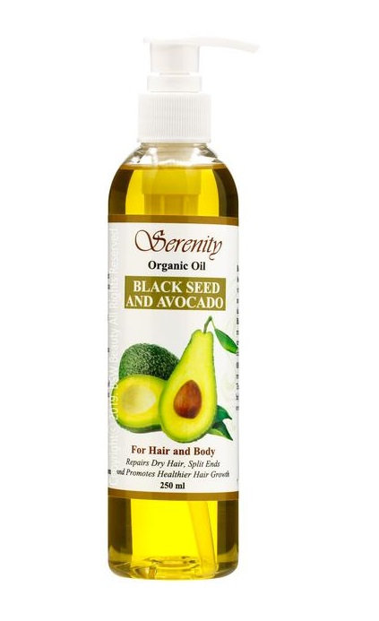 SERENITY BLACK SEED AND AVOCADO OIL
