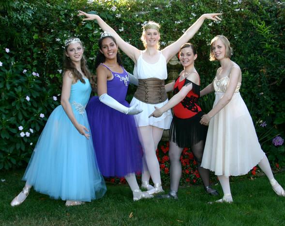 Angelina Ballerina Seniors