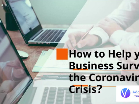How to Help your Business Survive the Coronavirus Crisis?