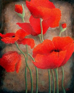 """Flirtatious Poppies II"""