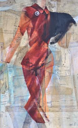 "Dress Pattern #3 - ""Red Lady"""