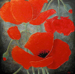 """Red Poppy Series 23"""