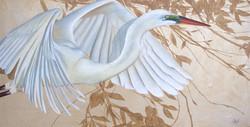 """""""Shimmering Egret"""""""
