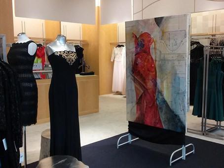 Neiman Marcus Orlando welcomes artist Patricia Chute.