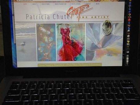 You can now follow Patricia Chute Studios on Instagram