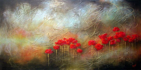 """Metallic Poppies II"""