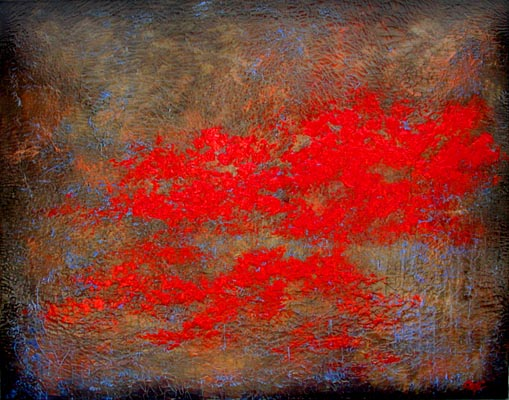 """Red Poppy Fields IV"""