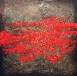 """Red Poppy Fields I"""