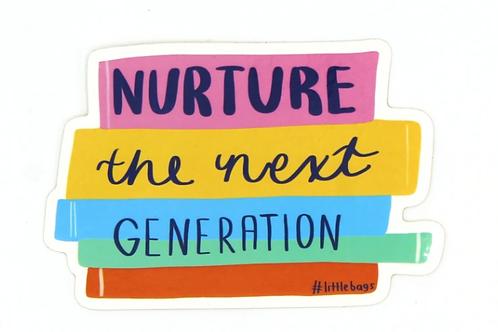 nurture the next generation