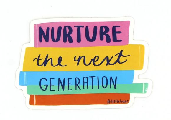 nurture the next generation w