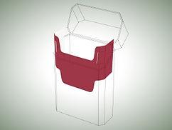 Inner frames paperboard for cigarette packs