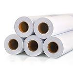 Wide-format plotter paper in reels