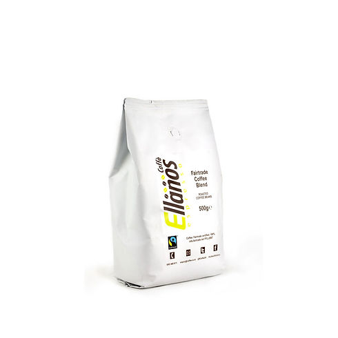 ellanos fair trade whole bean coffee