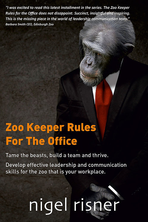 Zoo Keeper Rules for the Office Book + Webinar