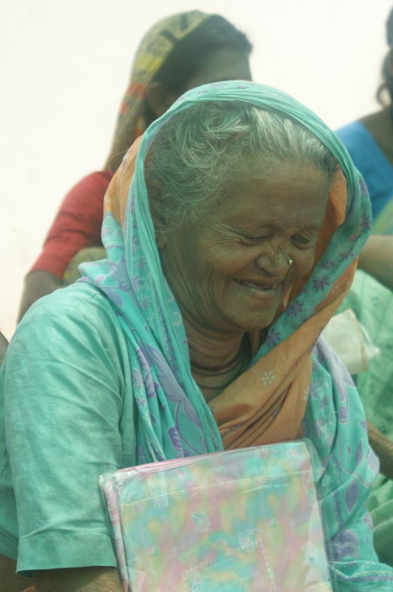 Chindabai at the shelter