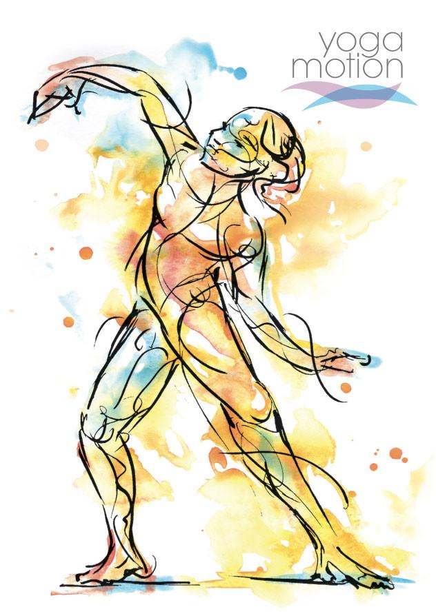Female form in Yoga – Yoga Motion™ created by Charlene McAuley