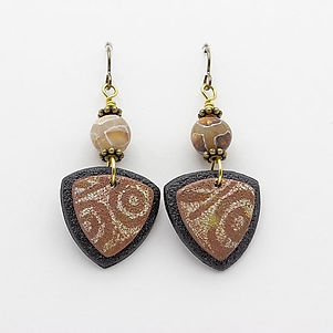 Diane Kremer Jewelry, ethnic Earrings, beads