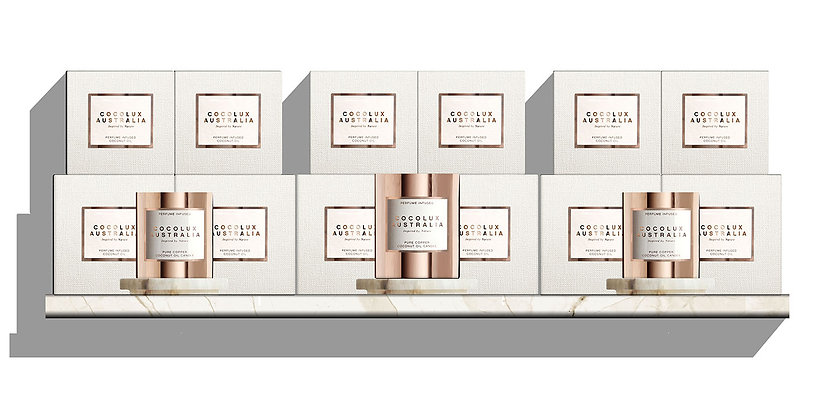 WHOLESALE  - SOL | COPPER CANDLE & REFILL PACKAGE | RETAIL VALUE $1330