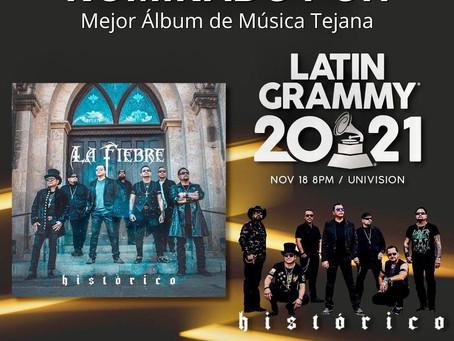 2021 Latin Grammy Nomination