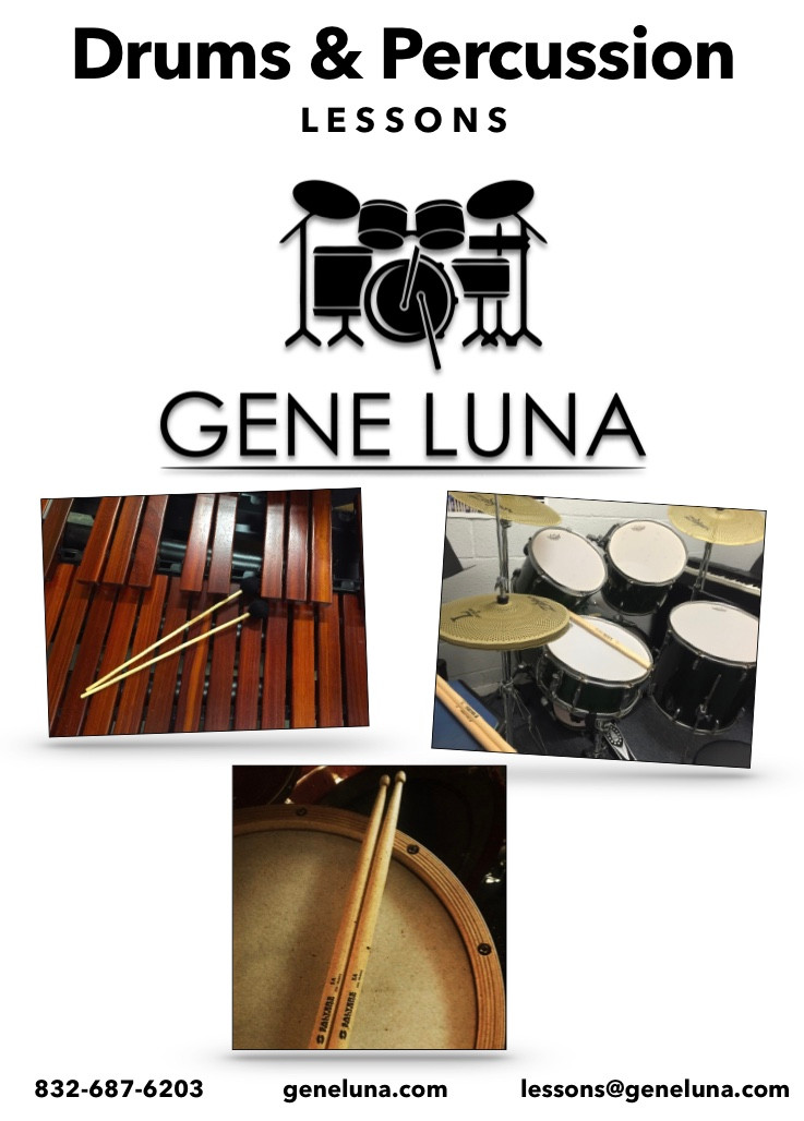 Drum Lessons | GeneLuna.com