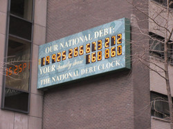 US's National Debt Clock