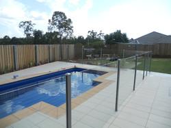 Semi Frameless Pool Fencing