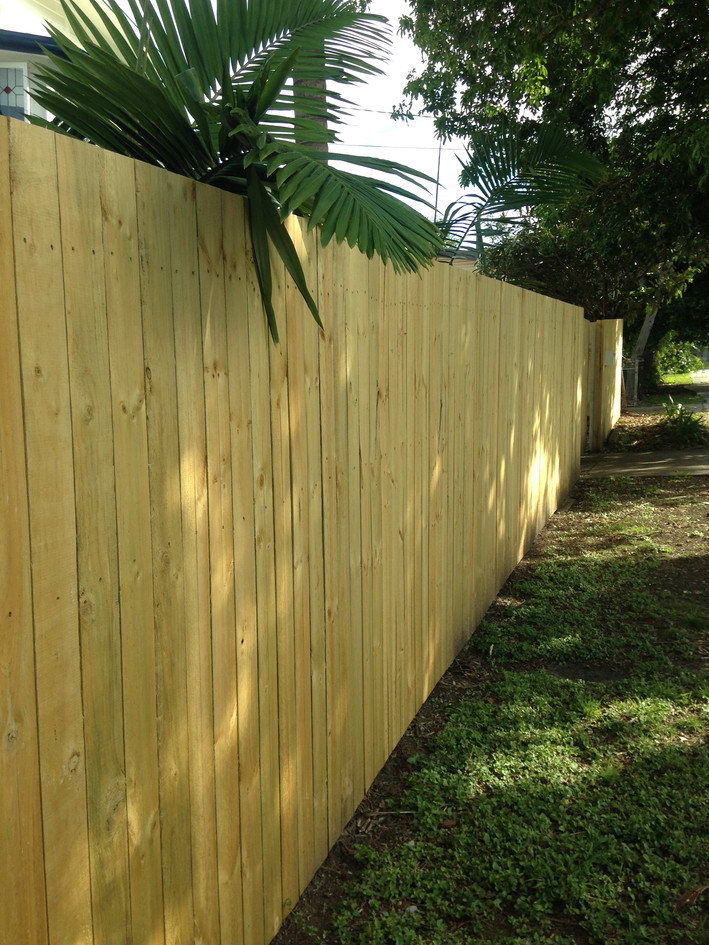 Butted Pine Fencing
