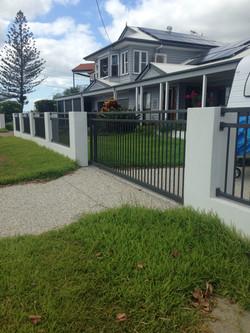 Dual Rail Aluminium Fence Brisbane