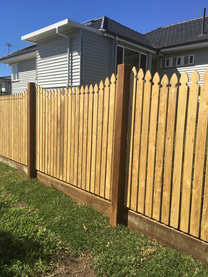 Custom Timber Fencing