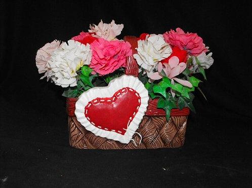 Large Heart Basket