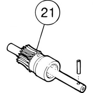 Small Pin for Brake Worm Gear