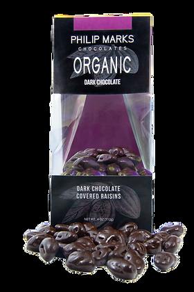 Organic Dark Chocolate Raisins