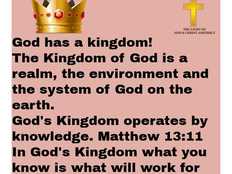 #kingdomOfGod