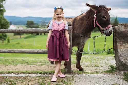 Kinderdirndl Leni mit Bluse