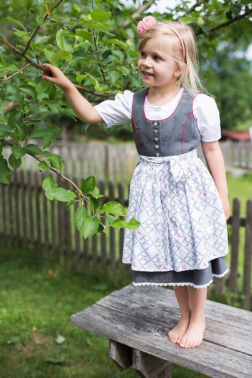 Kinderdirndl Gretel mit Bluse