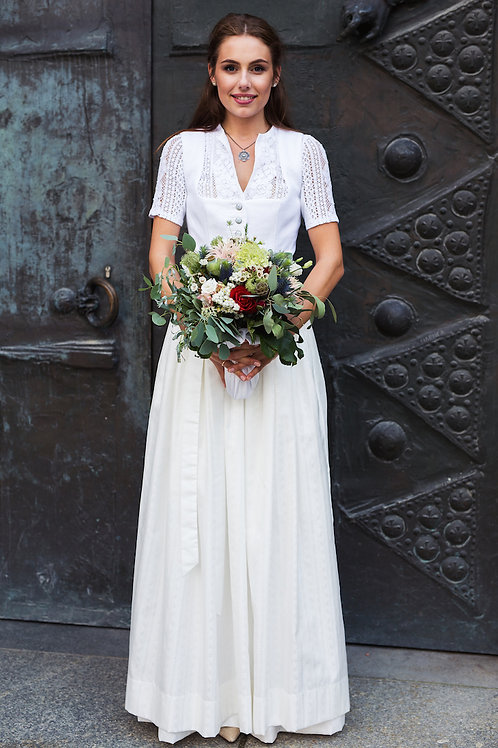 Brautdirndl Luisa (Größe 38)