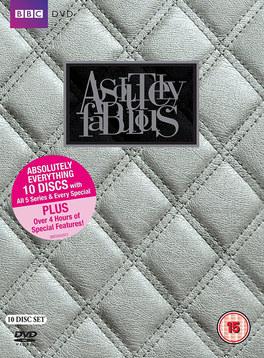 Absolutely Fabulous DVD & marketing design